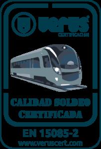 Certificación EN 15085-2