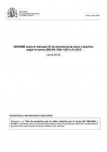 thumbnail of INFORME_marcado_CE_estructuras_acero_aluminio_EN_1090-1_Jun16_con_aclaraciones_Mar18